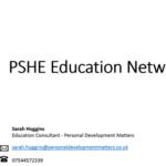 PSHE education network - Summer Term online